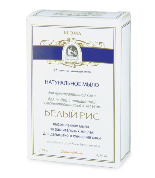 Мыло банное без запаха («Белый рис»)