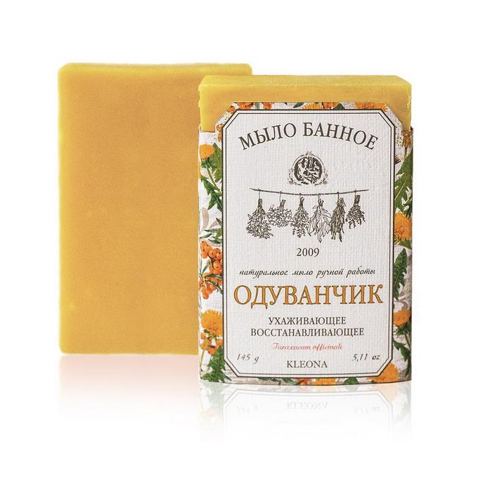 Мыло банное натуральное «Одуванчик»